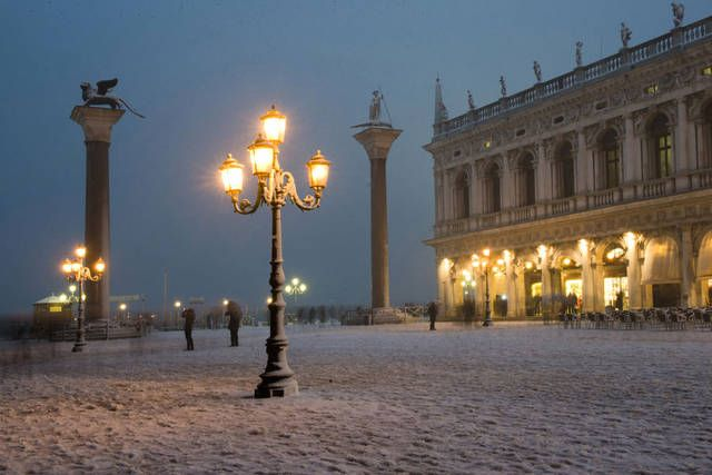 -ITALIA: Neve a Venezia