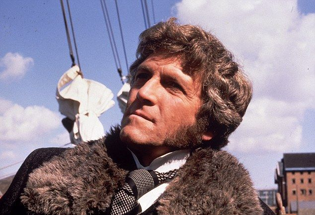 Peter Gilmore as James Onedin in The Onedin Line, 1971-80