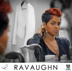 Ravaughn - I like the hair cut and the color