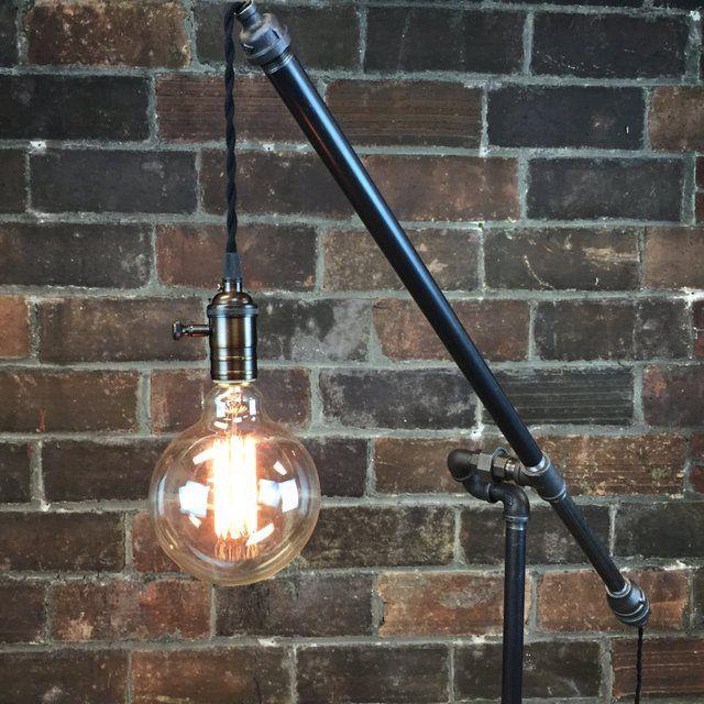 Fancy - Articulating Pulley Floor Lamp
