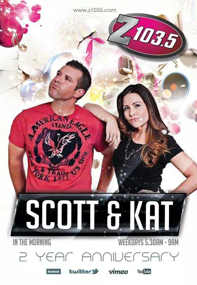 Scott Fox & Kat Callaghan - The Z1035 Morning Show.