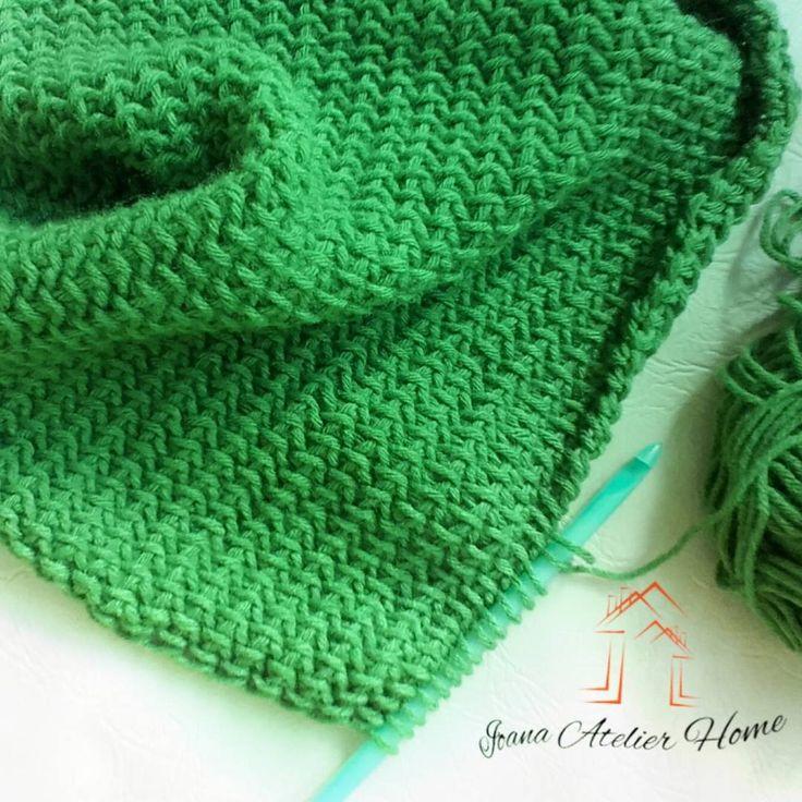 "19 aprecieri, 1 comentarii - Ioana Atelier Home (@ioana.atelier.home) pe Instagram: ""💚 #tunesiancrochet  #crochet #crochetlove #handmade #IoanaAtelier"""