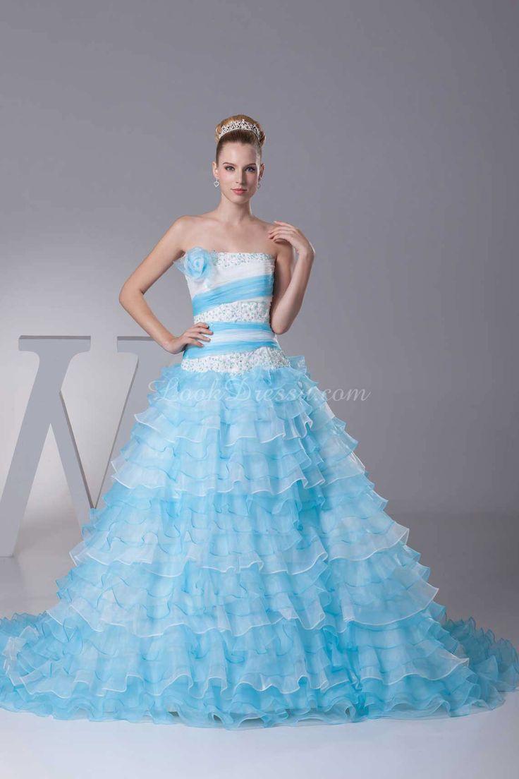 64 best Wedding dress ideas images on Pinterest | Wedding frocks ...