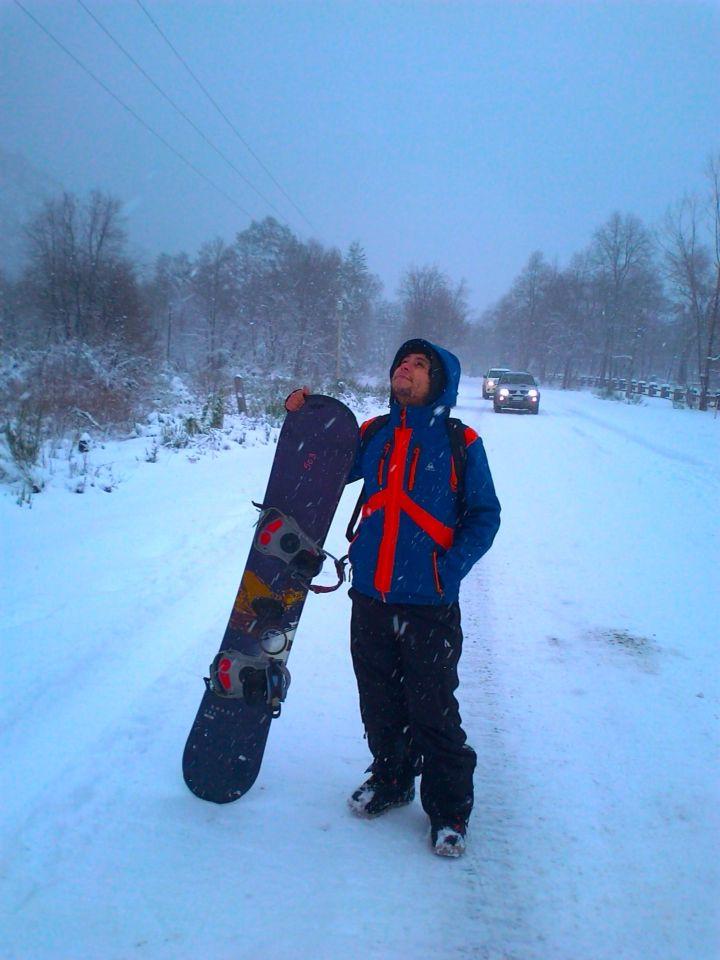 Snowboard termas de chillan