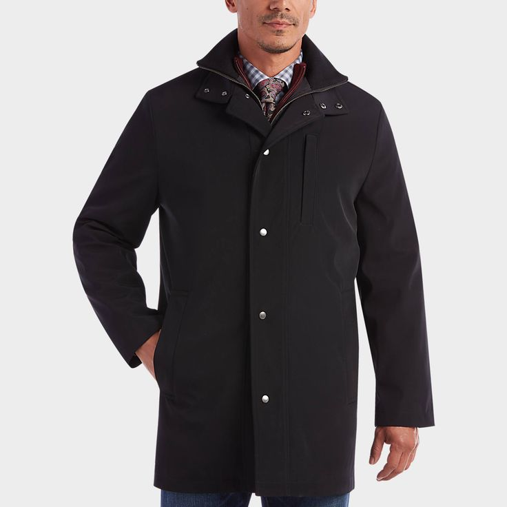 Buy a Joseph Abboud Black Modern Fit Raincoat online at Men's Wearhouse. See the latest styles of men's Raincoats. FREE Shipping on orders $99+.