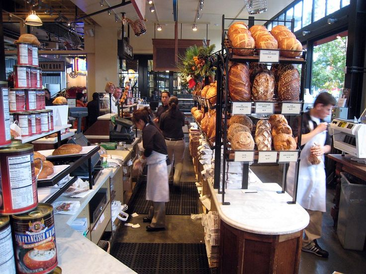 Bakery Display Ideas | After we exited the store, we passed a large window  where