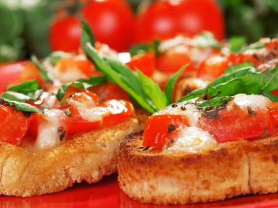 Double Tomato Bruschetta - http://goodtaste.tv/recipes/showrecipe/display/double-tomato-bruschetta