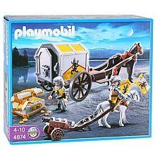 Playmobil - Transporte do Tesouro dos Cavaleiros do Leo - 4874