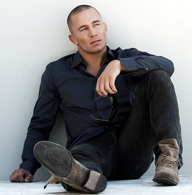Georges St. Pierre SUCH A SEXY MAN WITH AN OUTSANDING SPORT MANS LIKE CONDUCT