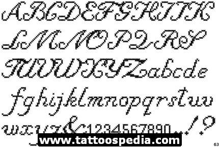 cursive tattoo letters 342 best images about fonts on alphabet 47132