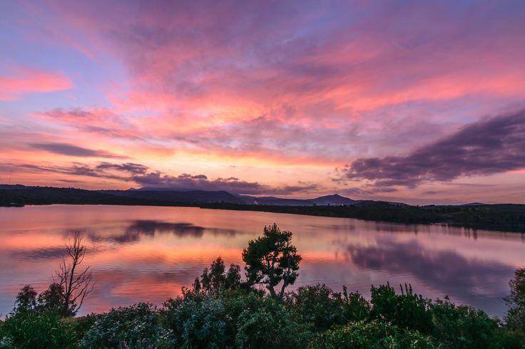 Marathon Lake - When the water becomes... art!