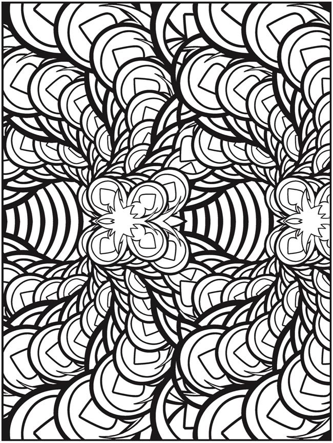 fractal coloring pages - 109 best images about creative haven coloring on pinterest