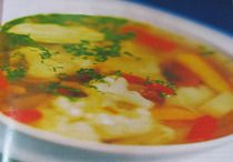 Суп с болгарским перцем картофелем