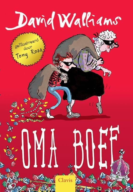 Oma boef (Boek, Vierde druk) door David Walliams   Literatuurplein.nl