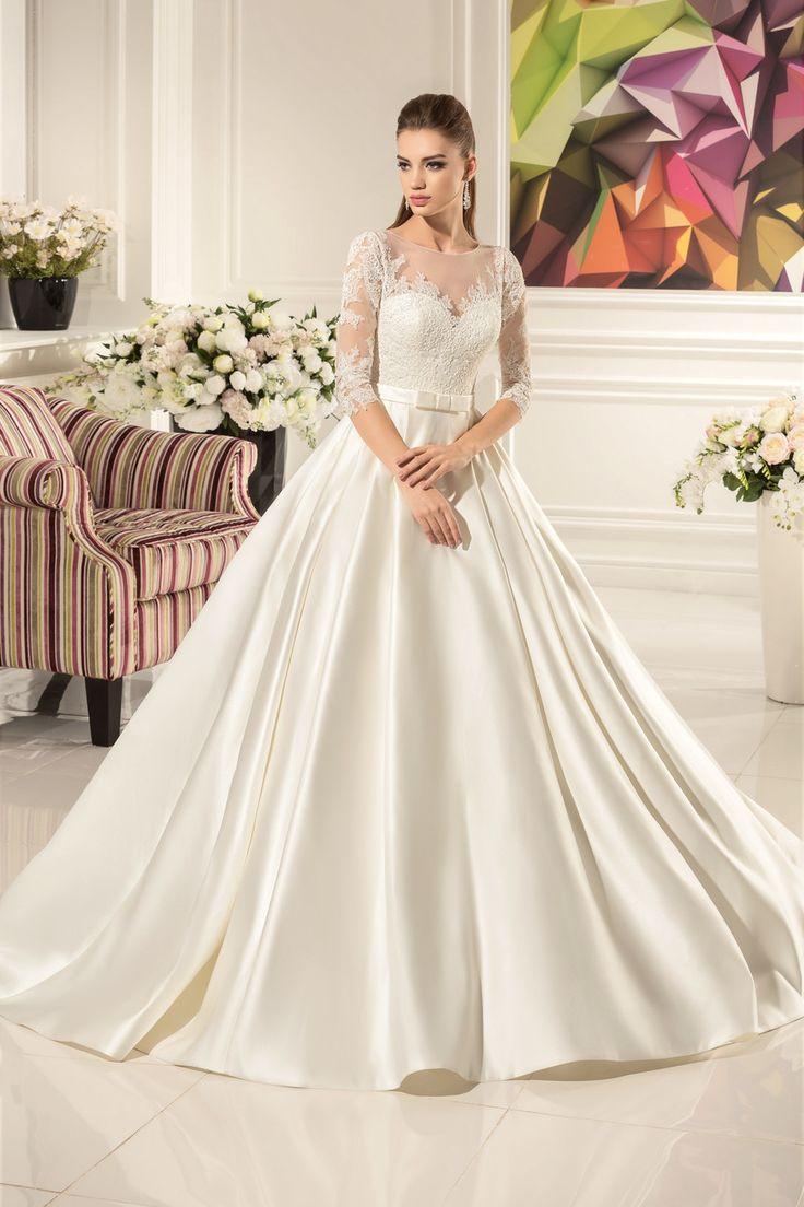 148 besten long wedding dresses Bilder auf Pinterest ...