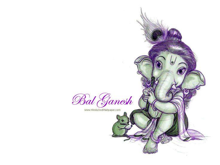 Cute Ganesha Wallpaper Free Download