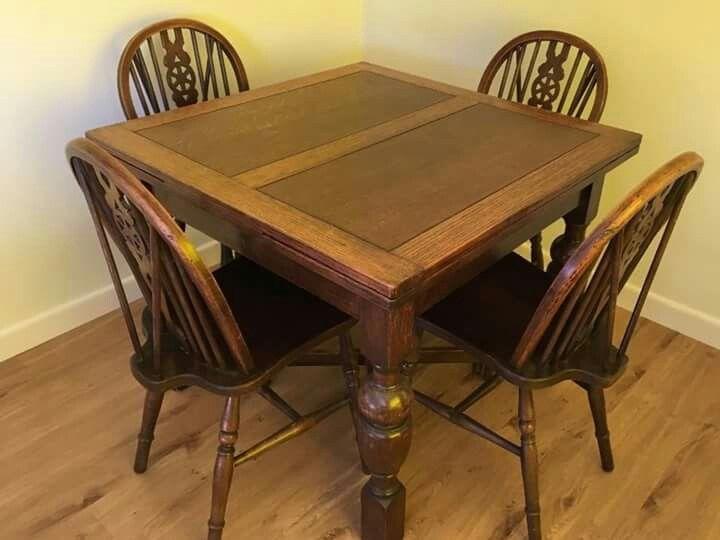 Pin By Rachel Henson On I Love Vintage Dining Table Kitchen Table Oak Oak Table