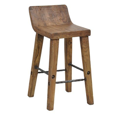 Shop For Arturo Low Back Counter Stool, And Other Bar And Game Room Stools  At Star Furniture TX. Crafted Of Reclaimed Elm And Fir With Iron Stretchers.