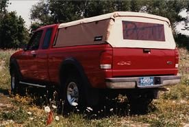 Can Back Soft Top Truck Camper Shell Canopy