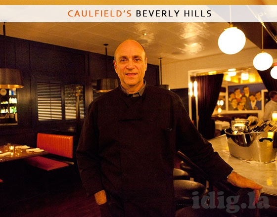 Chef Stephen Kalt Of Caulfields Bar And Dining Room Beverly HillsDining