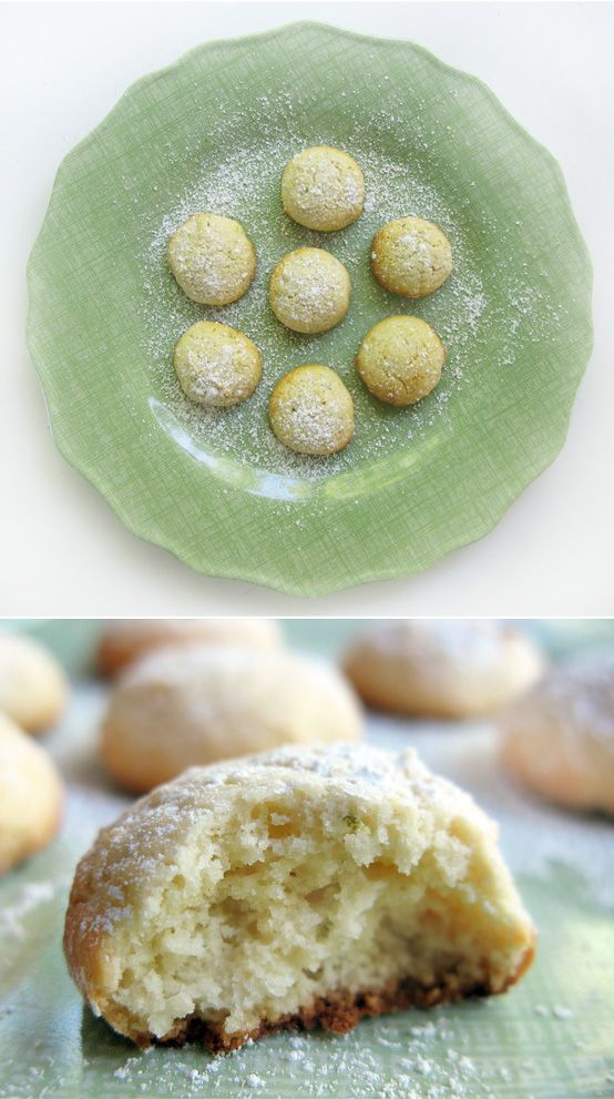 key lime cookies. had some from SC and must fine a comparable recipe!