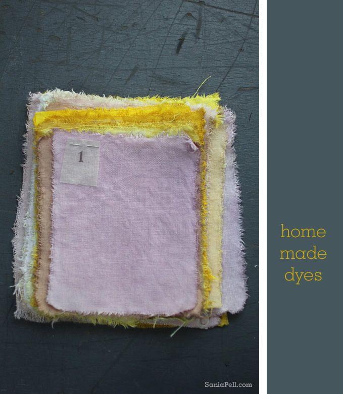Sania Pell Homemade Natural Dyes - come e con cosa