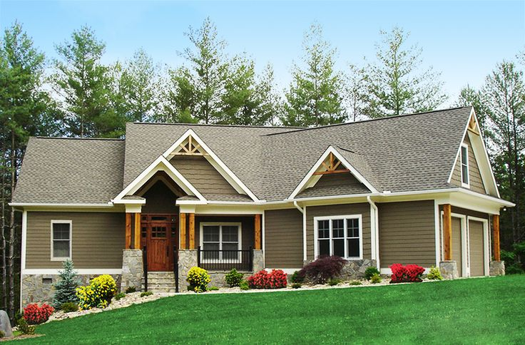 Craftsman-Inspired Ranch Home Plan - 15883GE   Cottage, Craftsman, Mountain, Ranch, Photo Gallery, 1st Floor Master Suite, Bonus Room, Butler Walk-in Pantry, CAD Available, Den-Office-Library-Study, Jack & Jill Bath, MBR Sitting Area, PDF, Split Bedrooms, Corner Lot   Architectural Designs