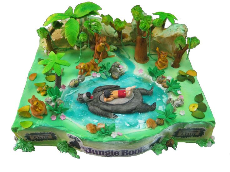 Jungle Book Themed Birthday Cakes Amber Would Love This