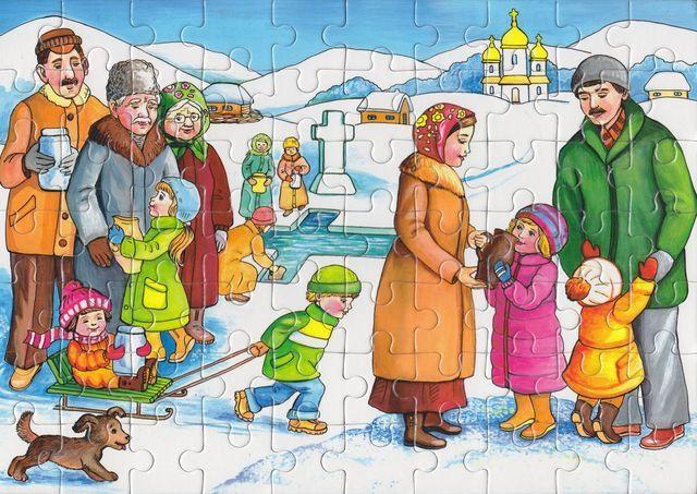 Св. Миколай та Різдвяні свята — у... пазлах!