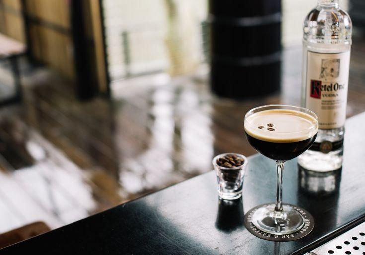 Tuxedo at The Rocks, dedicated to espresso martinis
