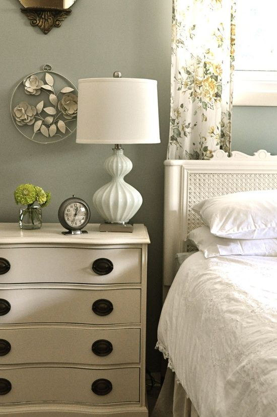 A pretty cottage style bedroom