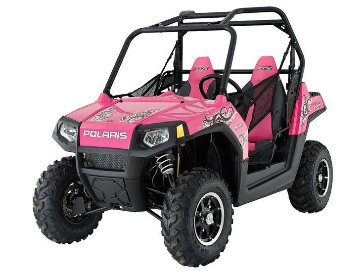 Razor 4x4 Polaris | 2009-pink-polaris-ranger-rzr