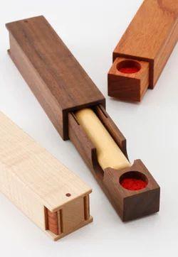 木工デザイン製作所 : 印鑑ケース ウォールナット