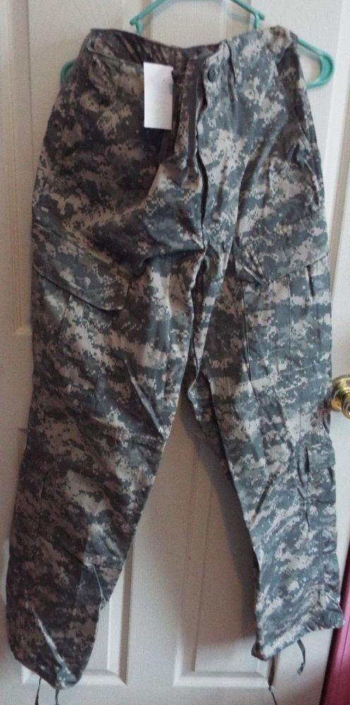 Army Combat Uniform ACU Medium Long 35 x 33.5 New Digital Camouflage NWT  #Military