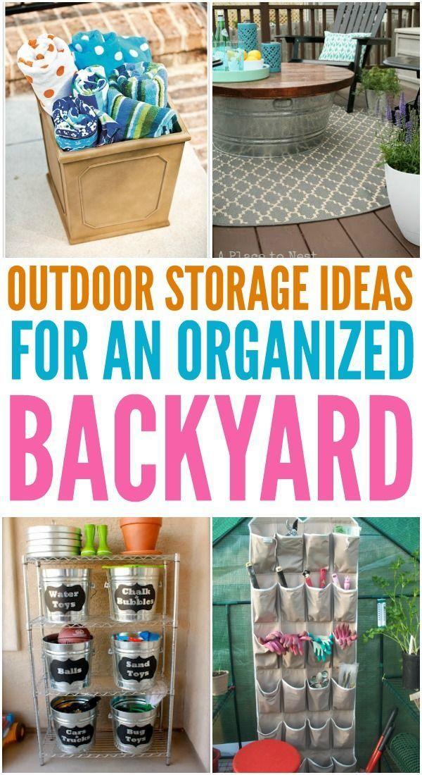 23++ Backyard storage ideas ideas in 2021