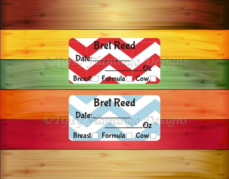 160 Removable Baby Bottle Labels, Personalized Breast Milk Labels for Babies, Formula Labels, Daycare Labels, Milk Labels -TFD475 by TipsyFlamingoDesigns on Etsy