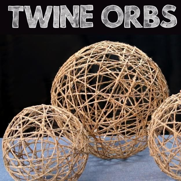 Up Your Home Decor Game With These Easy DIY Twine Orbs