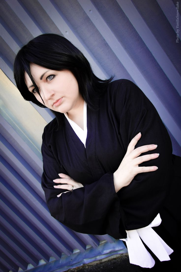 Kuchiki Rukia Cosplay from the anime series Bleach. Cosplay by Pixiedust Cosplay. Photo by VanillaSnowflake Cosplay. Edit by Pixiedust Cosplay.