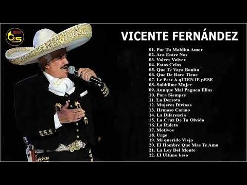 Mejores Canciones De Vicente Fernández Vicente Fernández Sus Mejores éxitos Canciones De Vicente Fernandez Canciones De Vicente Musica De Vicente Fernandez