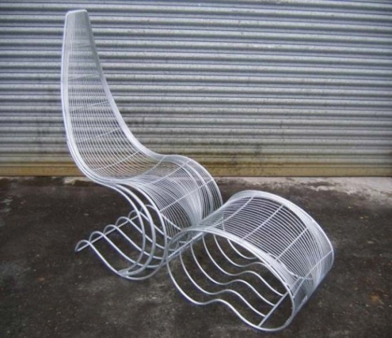 Contemporary Handcrafted Metal Chair   Modern Homes Interior Design And  Decorating Ideas On Decodir