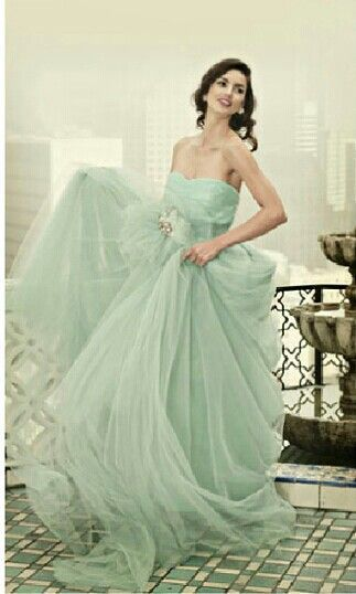 Green Wedding Dress / abito da sposa verde