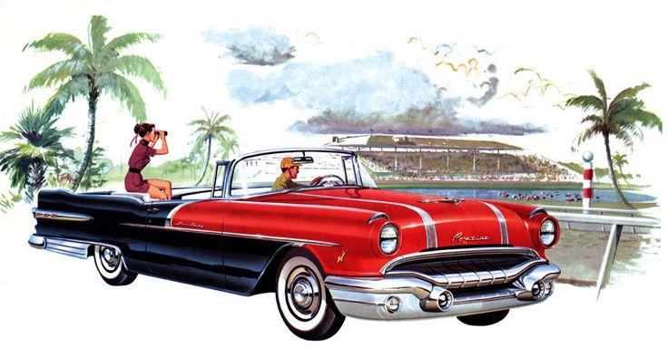 1956 Pontiac Star Chief Convertible Automotive Legends