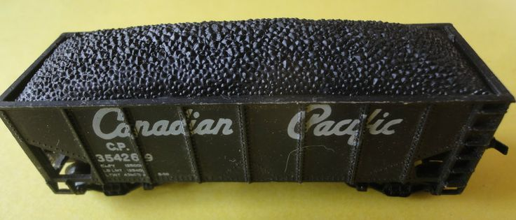 Vintage Canadian Paciific Coal Hopper Freight Car #354269