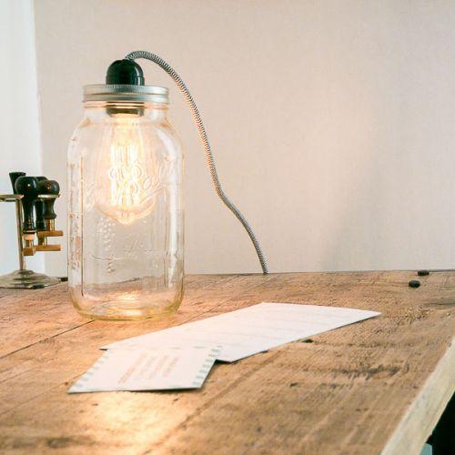 KIT DIY - LA LAMPE BALADEUSE MASON JAR