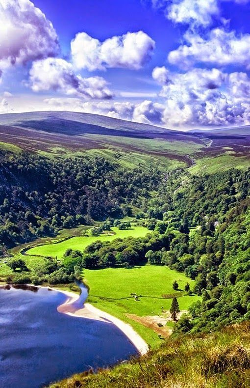 Wicklow Mountains,Ireland