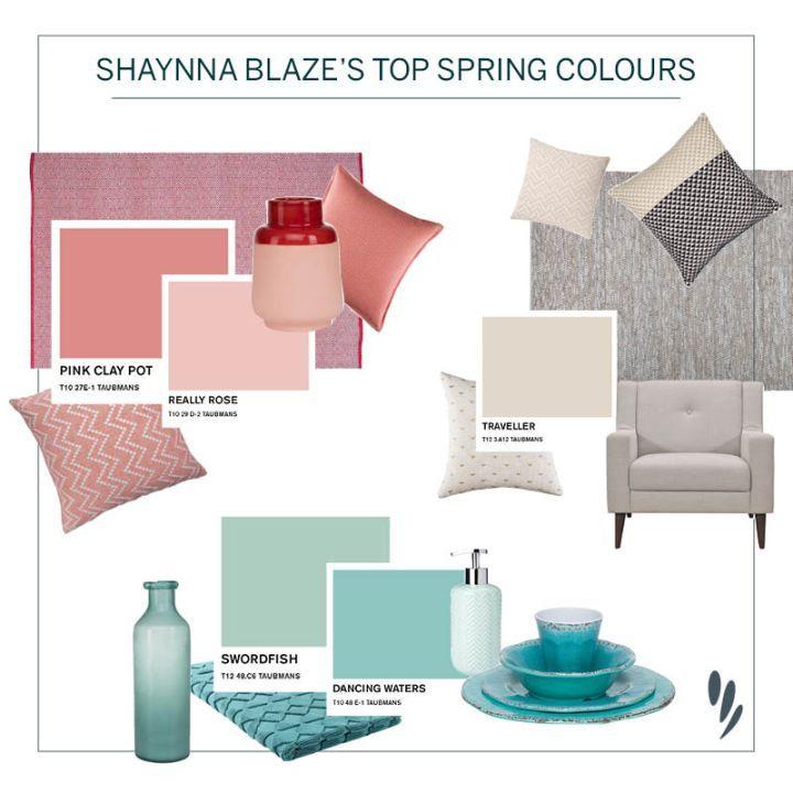 Shaynna Blaze colour