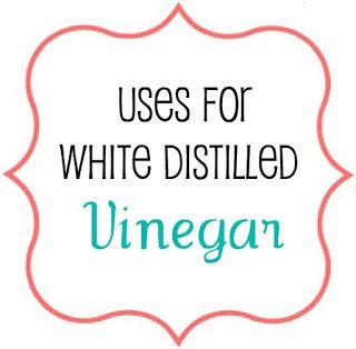 ∆ Vinegar...Whatever Dee-Dee wants, she's gonna get it: White Vinegar Tips   Recipes   Craft Tutorials   Fashion   Motherhood