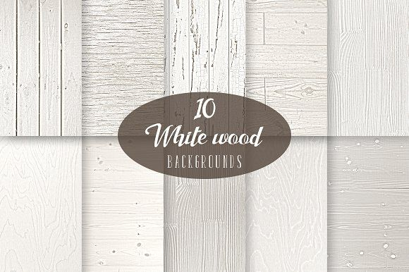10 White Wood Backgrounds by KitsPix on @creativemarket