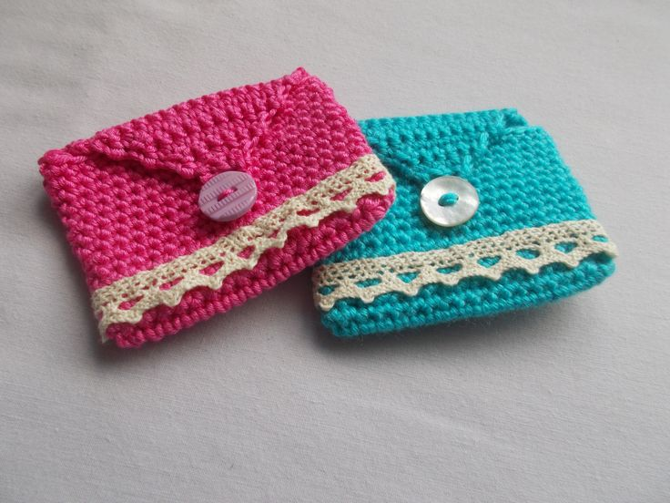 Little coin purse .. pattern from Simply Crochet magazine.