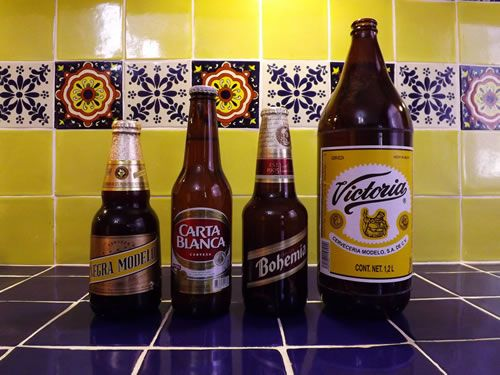 "Mexican Beer - from article on ""The Mexican Beer Rundown"" discussing the best and worst among the many fine beers in a country with a long history brewing them."
